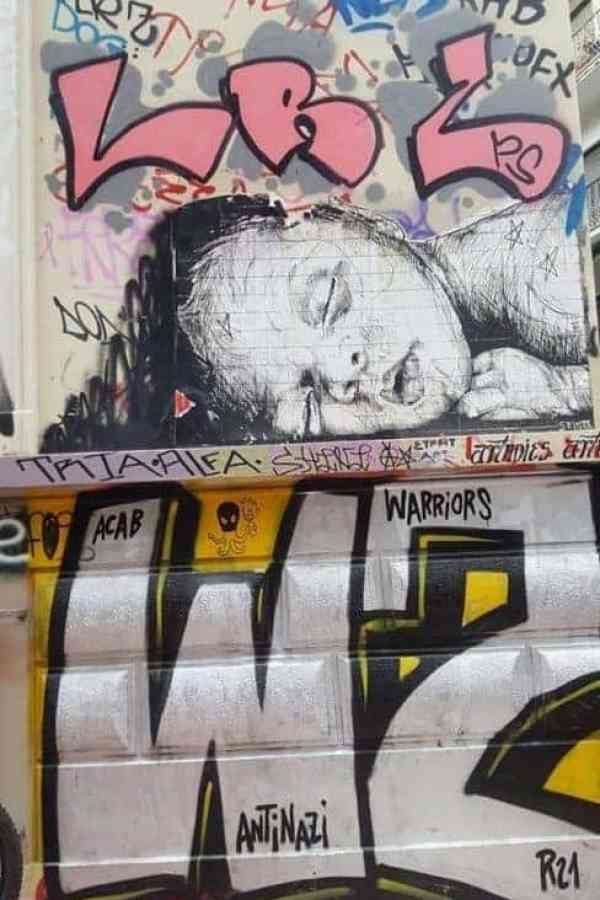 Exarchia graffiti