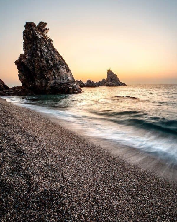 Palmi beach, Southern Italy