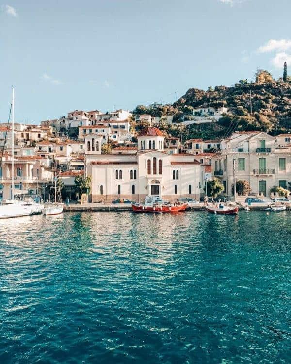 Poros, Saronic Gulf