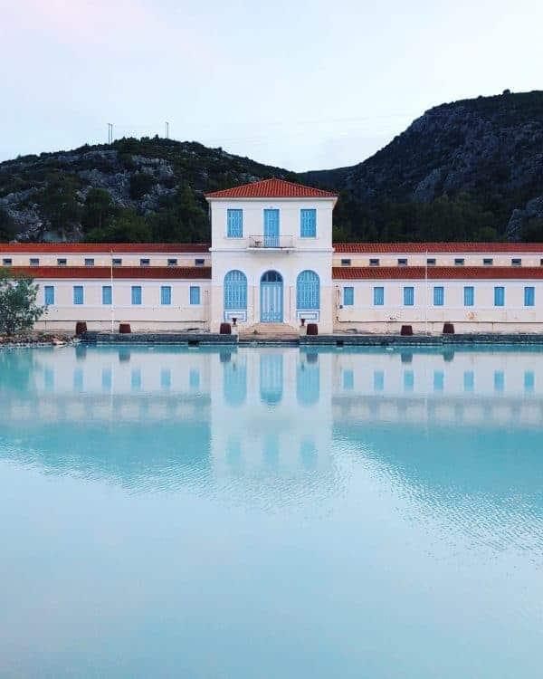 Methana thermal spas, Saronic Gulf, Greece