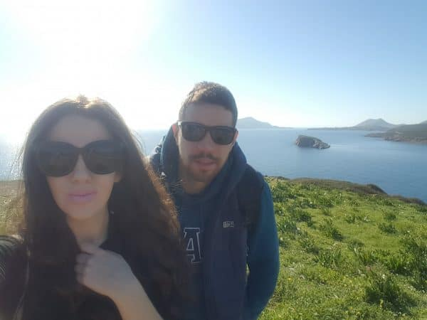 Dating Greek men: My Greek God and I in Sounio