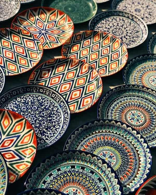 Uzbekistan Travel Guide: Beautiful Uzbek ceramics