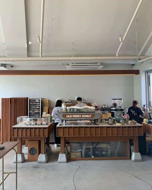 Coffee Shops in Seoul: Old Ferry Donut