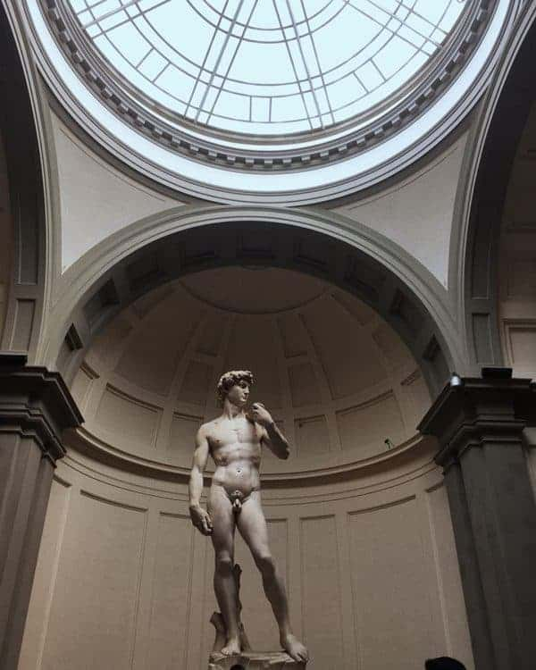 Michelangelo's David, Galleria dell'Academia