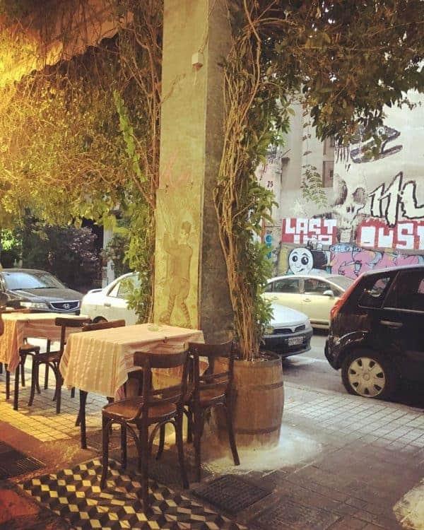 Best Restaurants in Athens: Ouzeri Lesvos, Exarchia