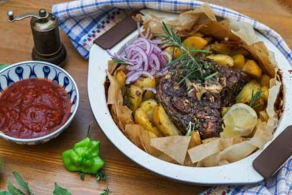 Greek food: lamb kleftiko