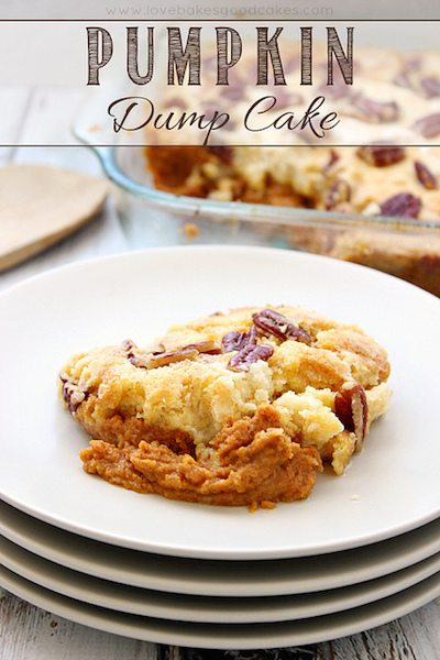 Pumpkin Dump Cake - Easy Meal Plan #15