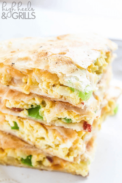 Breakfast Quesadillas - Easy Meal Plan #15