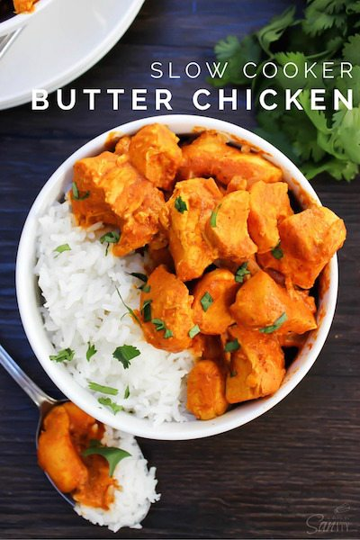 Slow Cooker Butter Chicken - Easy Meal Plan #18