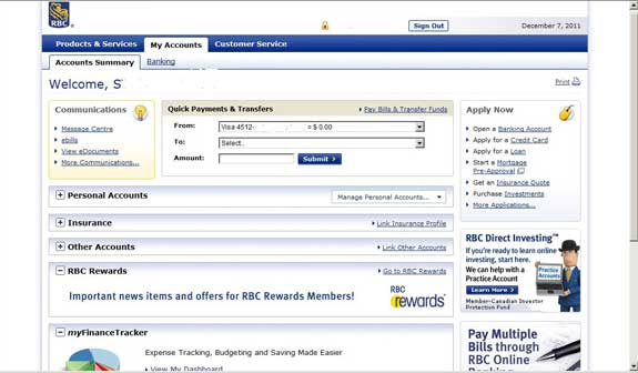 Rbc Personal Online Banking