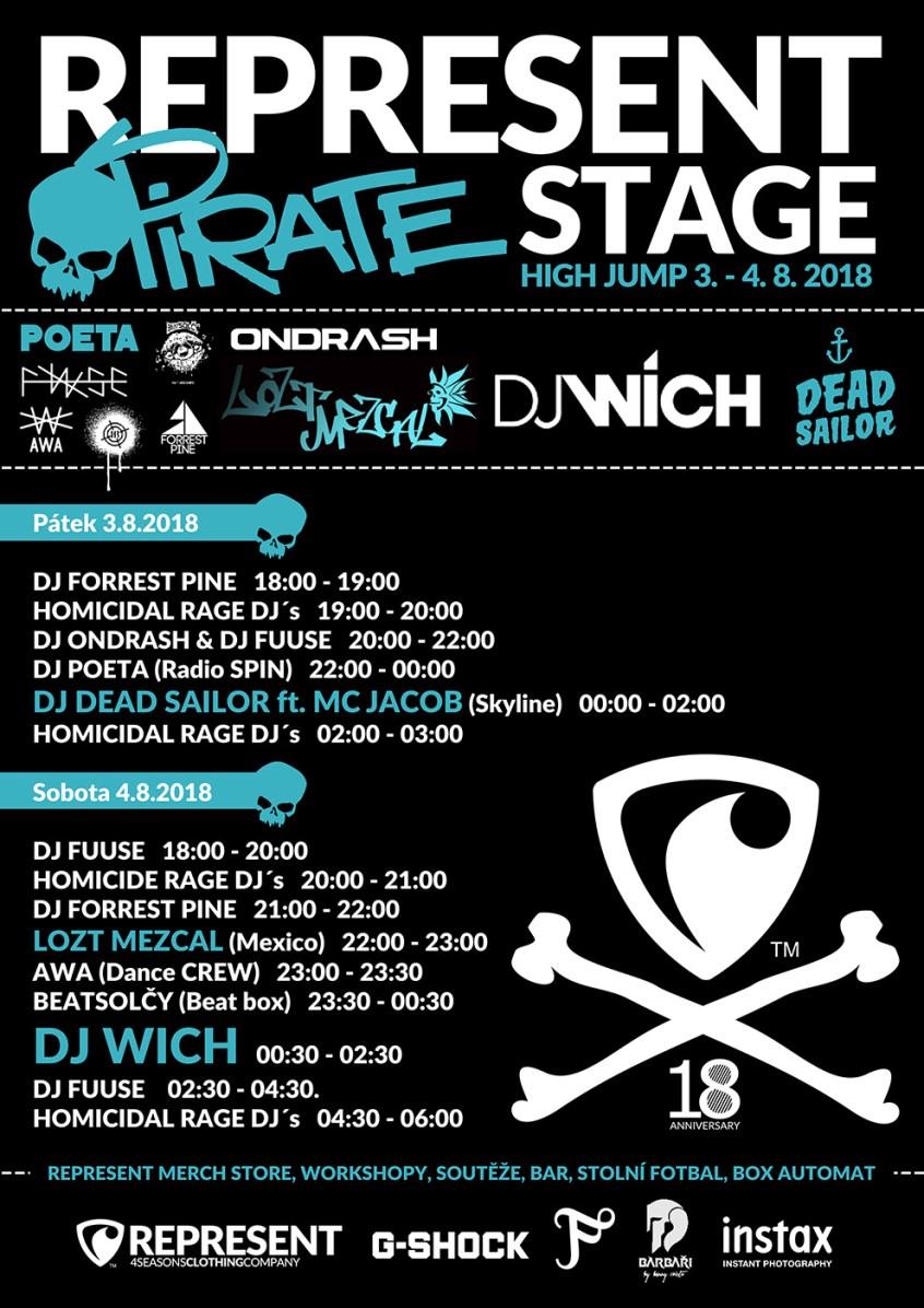 pirate stage plakat