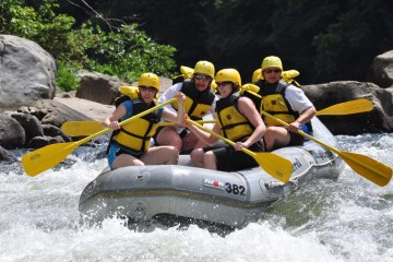 Cheat River Rafting