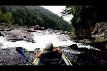 White water rafting on Cheat River