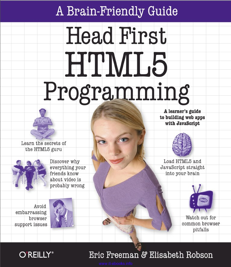 Head First HTML5 Programming Book Cover