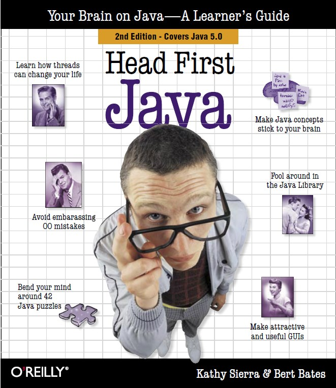 Head First Java Book Cover