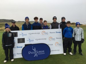 Paul Lawrie Foundation winter series event at Nairn GC