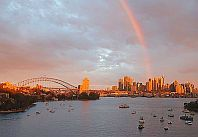 our office in sydney - under the rainbow