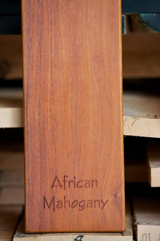 Retail Highland Hardwoods | African Mahogany Stair Treads | Handrail | Cutting Board | Plank | Oak | Mahogany Wood Stair