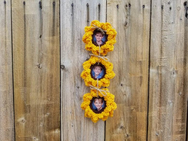 upcycled sunflowers