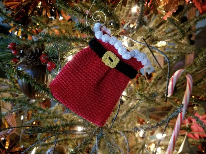 Santas sack ornament