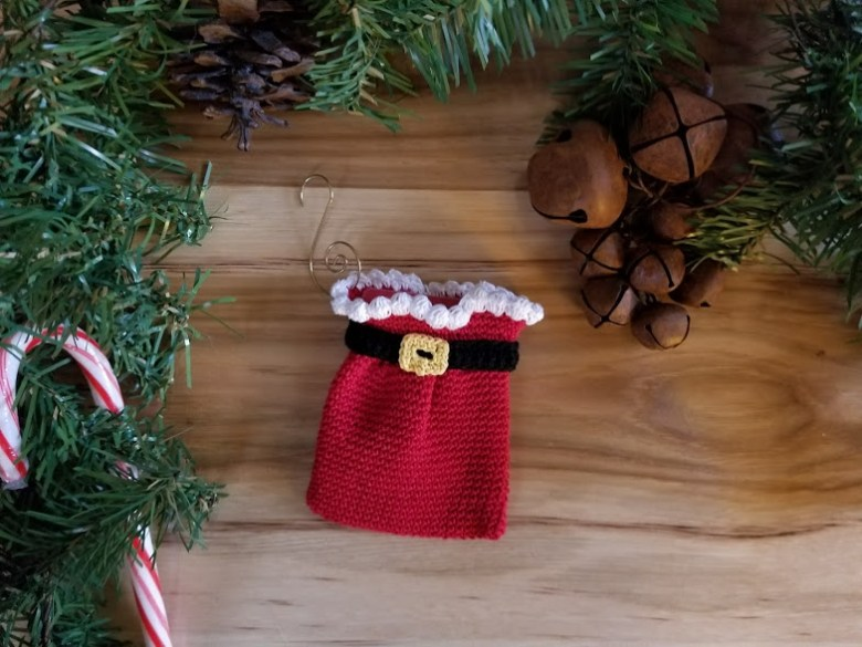 santa's sack ornament