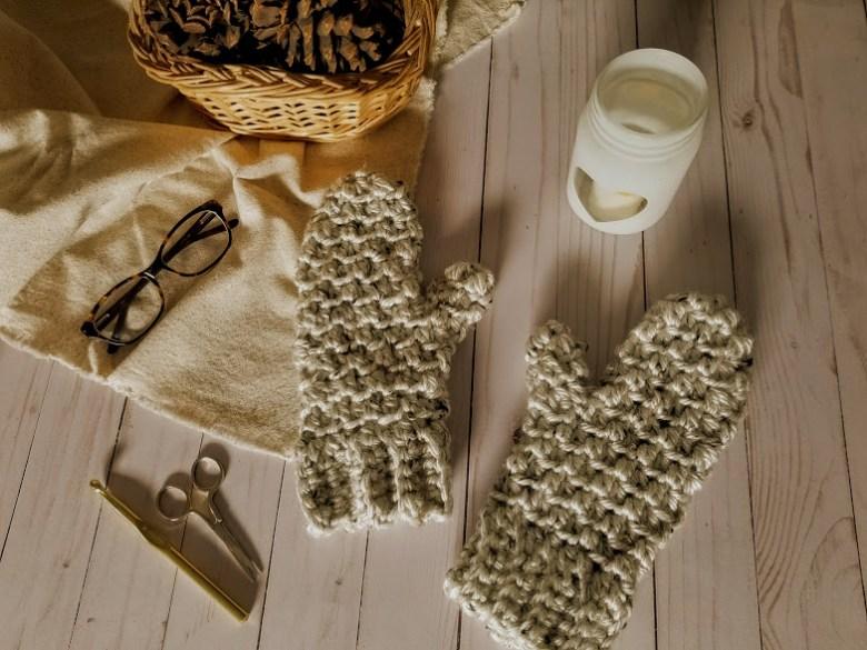 aspen tweed mittens