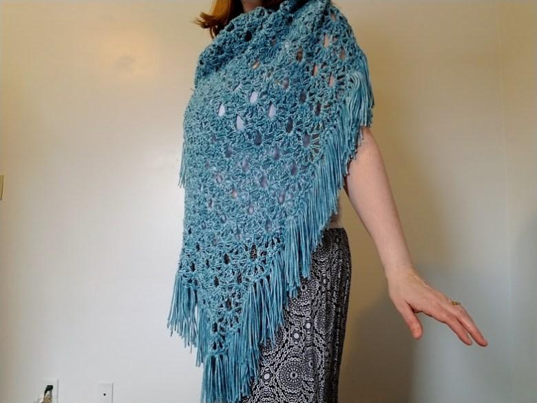 April Showers Shawl - Free Crochet Pattern - Highland