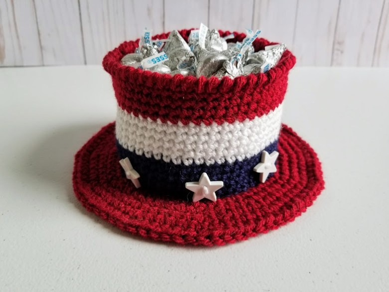Americana Hat Free Crochet Pattern Highland Hickory Designs