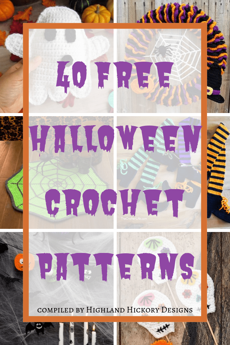 Spooky and Crafty Crochet Halloween Decorations - Moogly | 1102x735