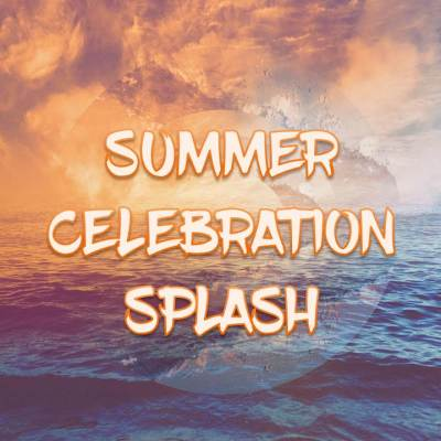 Summer Celebration Splash Slide