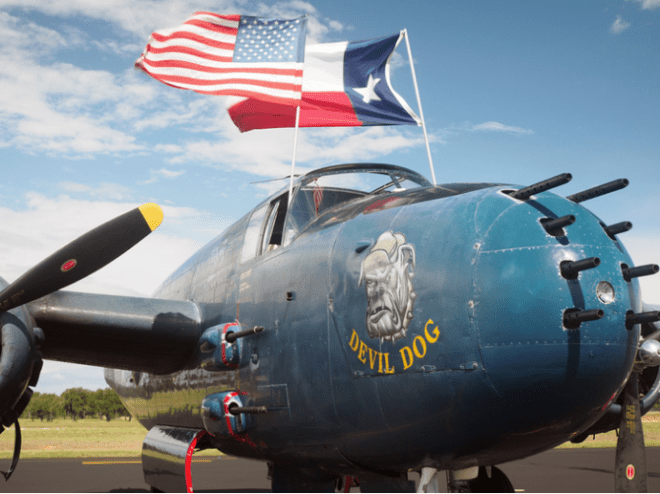 devil dog, bluebonnet air show, burnet county events