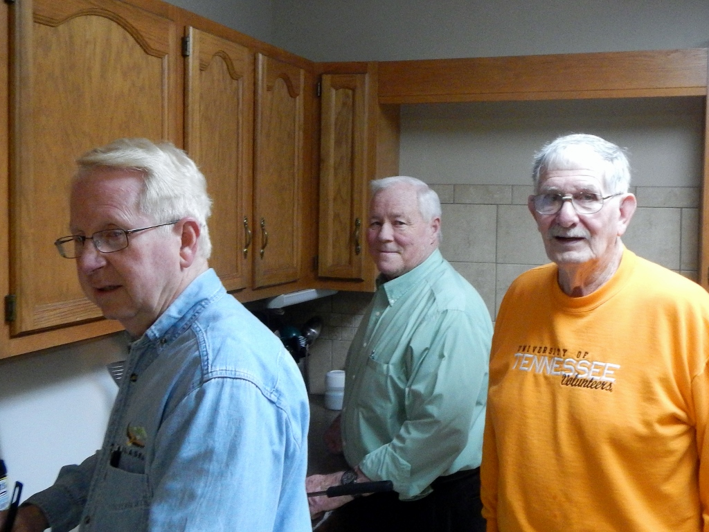 The Men behind the Stove