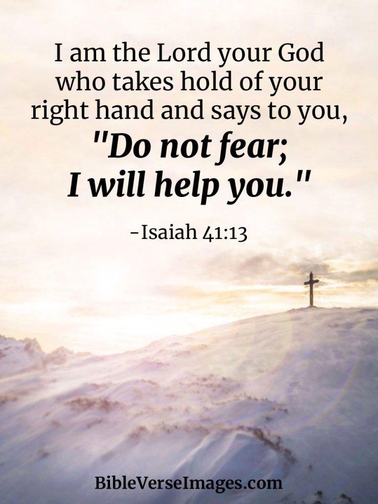 Verse of the day - Isaiah 41:13 KJV - Highland Park Baptist Church - Lenoir  City, Tennessee
