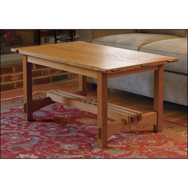Arts and Crafts Coffee Table Plan| Woodworking Plans on Coffee Table Plans  id=16476