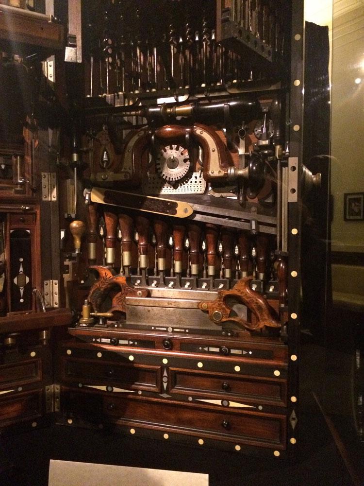 Photo Album Studley Tool Chest Exhibit