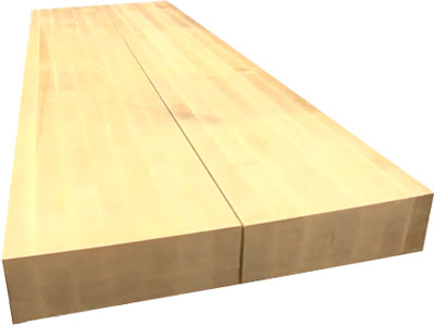 inch Maple top for a Roubo Workbench