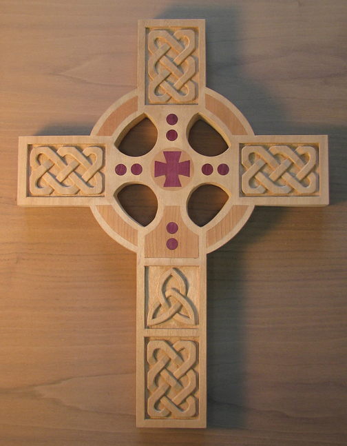 Celtic Cross Wood Carving Patterns