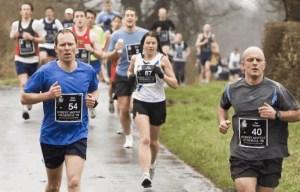 Runners in the 2008 High Legh 10K