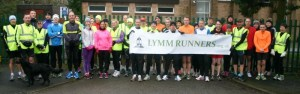 Run-the-route led by Lymm Runners