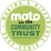 Moto in the community logo