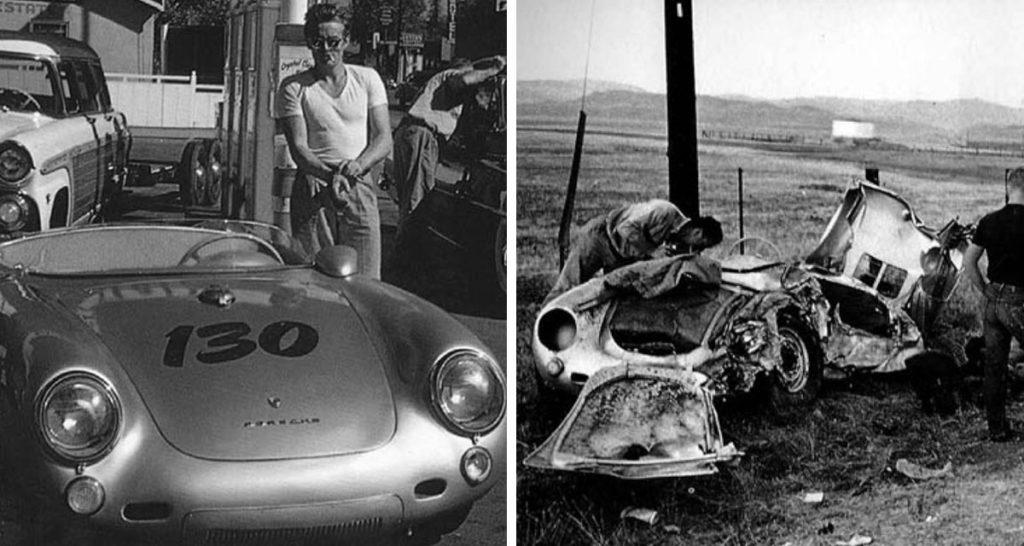 La malédiction de la Porsche 550 Spyder de James Dean