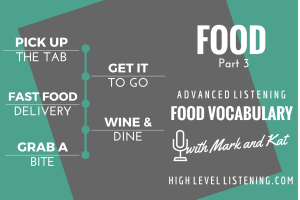 English Listening Practice Food Vocabulary 3