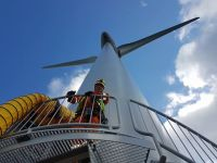 HLS carried out confined space windfarm rescue cover in the presence of toxic gases.