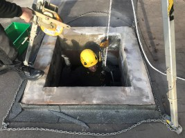 Industrial Rope Access Inspection
