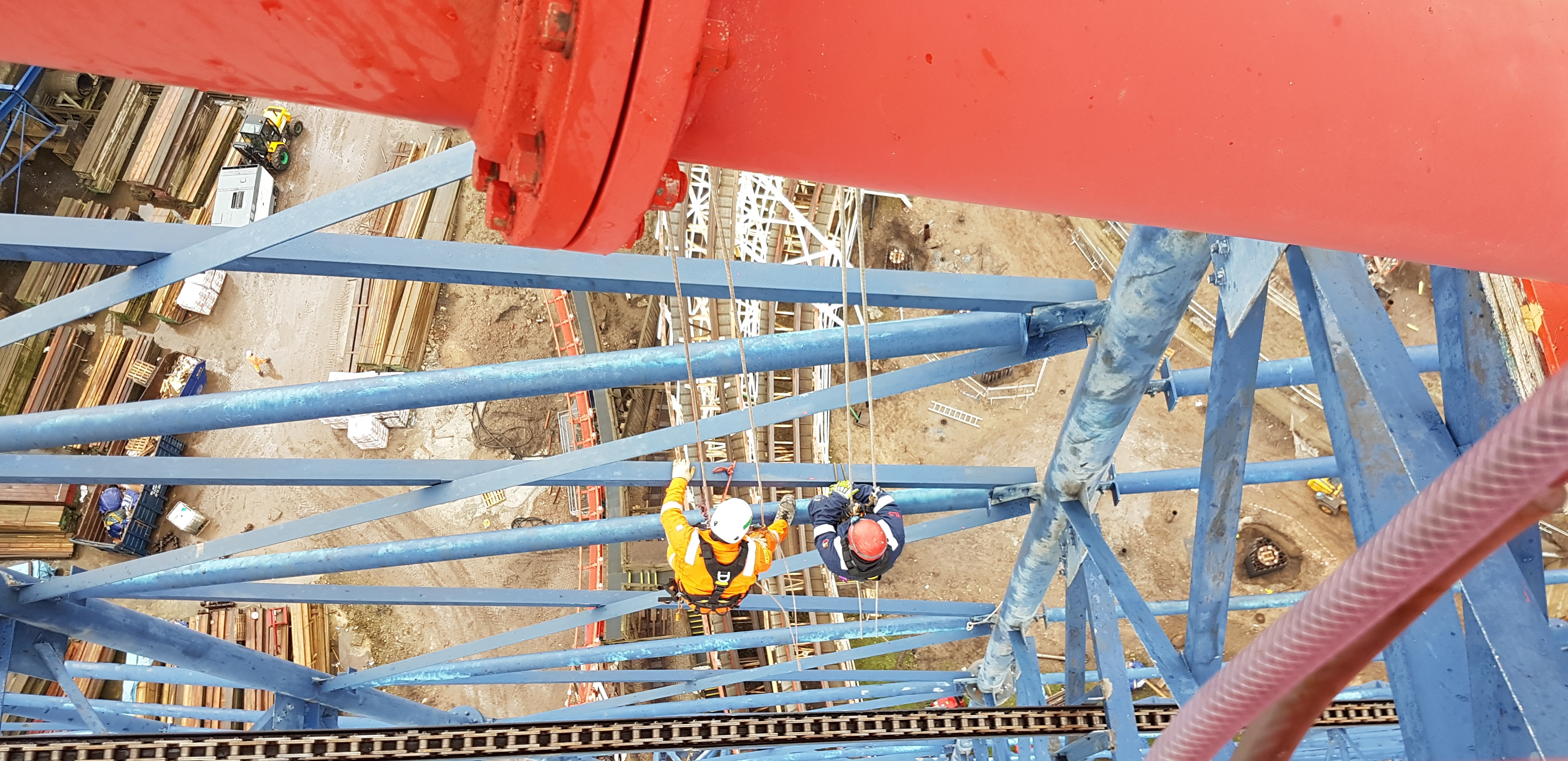 Industrial Rope Access - High Level Specialists