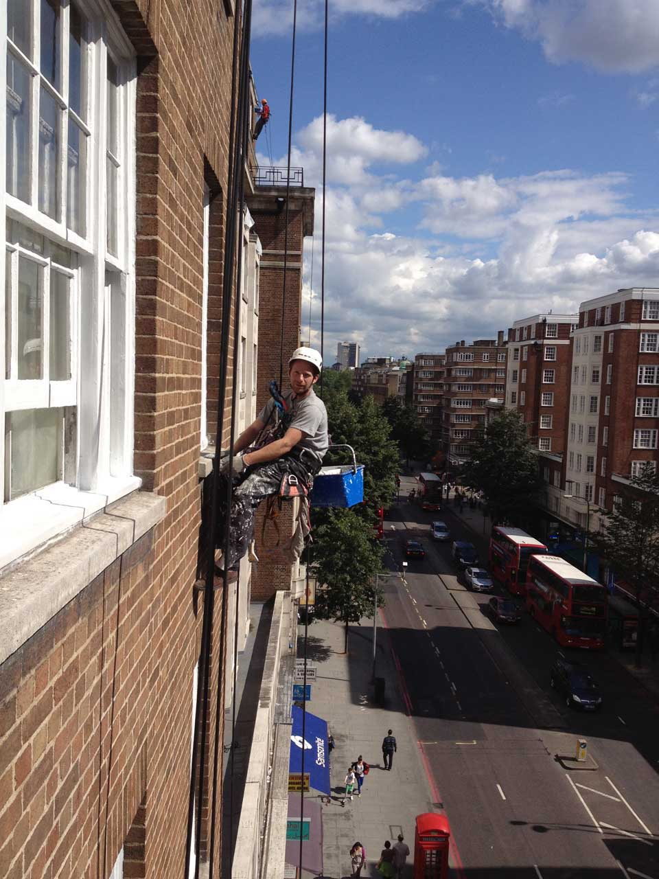 rope access industrial painting and abseil maintenance