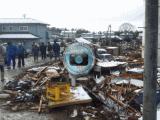 光司が撮影した震災直後の写真