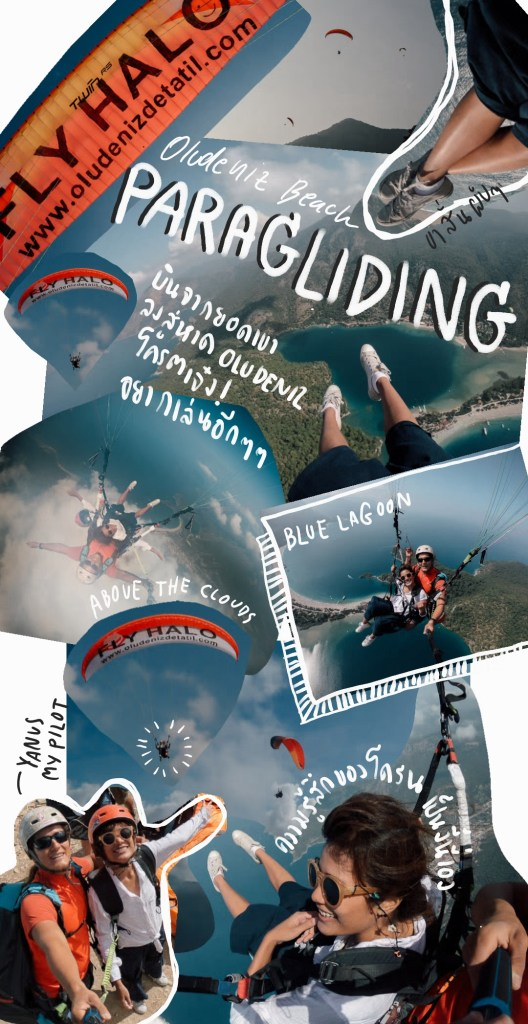 paragliding, turkey