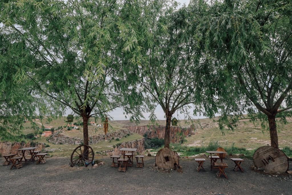 Ihlara valley coffee shop