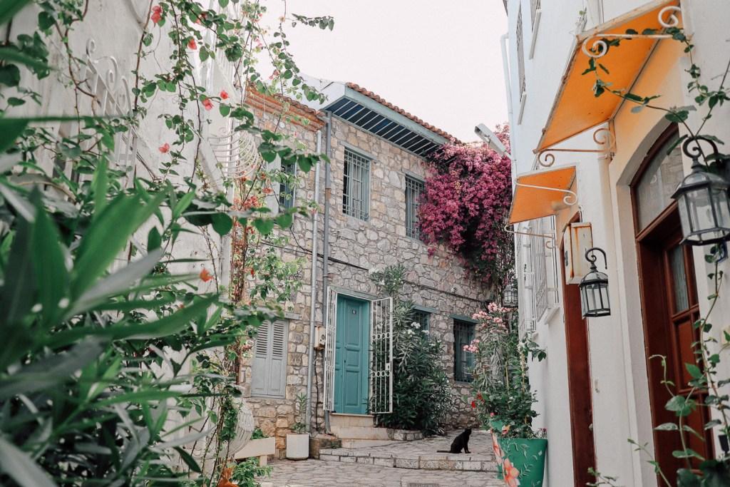 เมืองเก่ามามาริส ประเทศตุรกี marmaris , turkey สถาปัตยกรรมสไตล์เมดิเตอร์เรเนียน